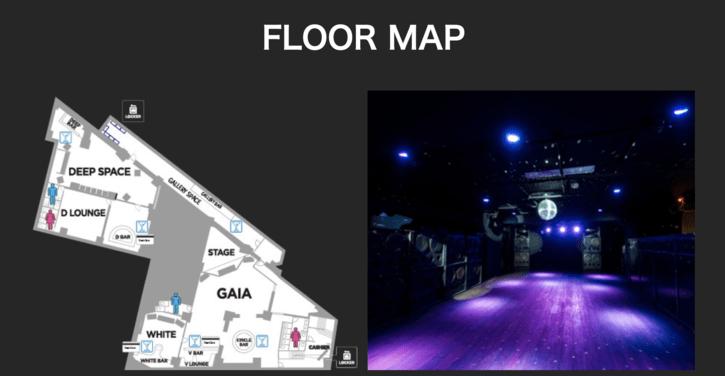 SOUND MUSEUM VISION フロアマップ