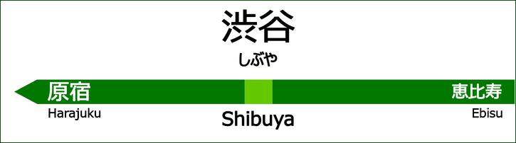 山手線 渋谷