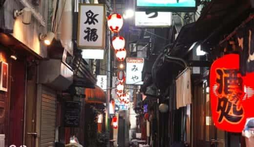 東京都内の横丁系飲み屋街28ヶ所を徹底調査🏮飲んで出会えるお店を教えちゃうぞ😍